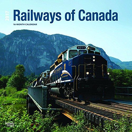 9781770989061: Railways Of Canada 2017 Square BTCA