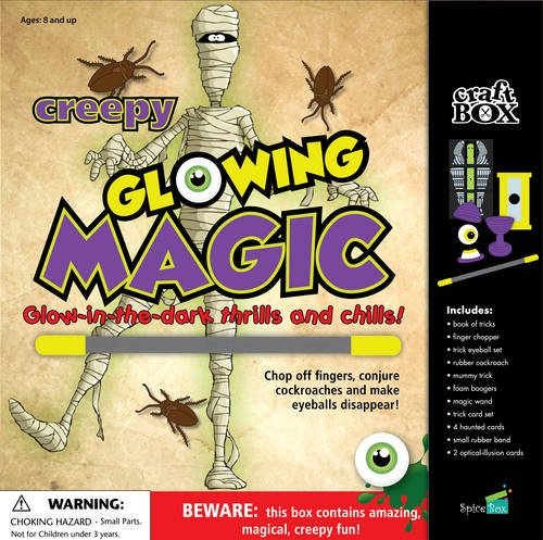 9781771320009: Creepy Glowing Magic: Glow-in-the-dark Thrills and Chills! (Craft Box Kids)