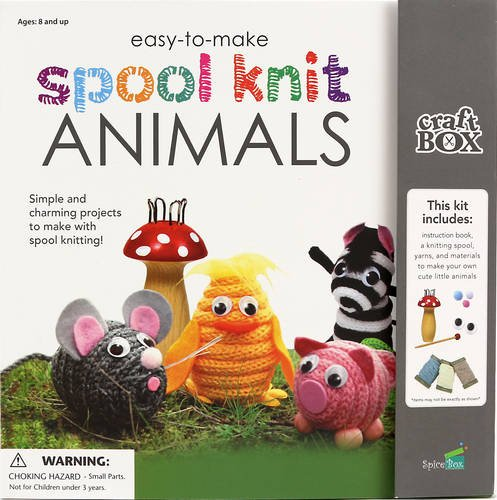 9781771320252: Easy-to-Make Spool Knit Animals: Simple and Charming Projects to Make With Spool Knitting! (Craft Box)