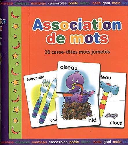 9781771321037: Association De Mots: 26 Casses-tetes Mots Jumeles (Puzzles Simples) (French Edition)