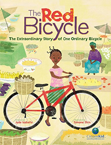 9781771380232: The Red Bicycle: The Extraordinary Story of One Ordinary Bicycle (CitizenKid)