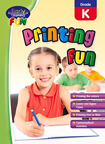 Printing Fun (Early Learning Fun): Popular Book Company