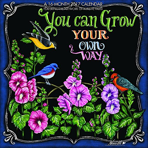 9781771545204: You Can Grow Your Own Way, Featuring Artwork of Ninette Parisi 2017 Mini 7x7 Hopper