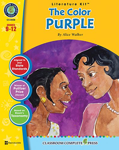 9781771670012: The Color Purple - Novel Study Guide Gr. 9-12 - Classroom Complete Press