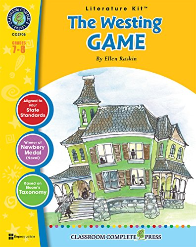9781771672511: The Westing Game - Novel Study Guide Gr. 7-8 - Classroom Complete Press