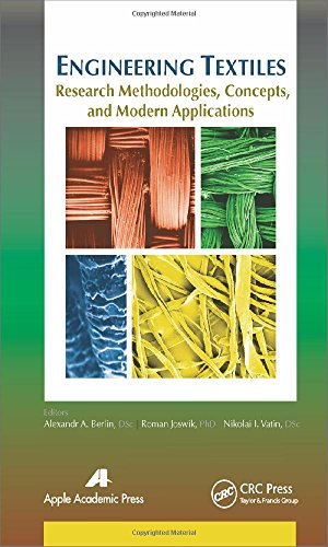 9781771880787: Engineering Textiles: Research Methodologies, Concepts, and Modern Applications