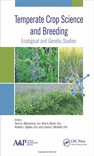 9781771882255: Temperate Crop Science and Breeding: Ecological and Genetic Studies