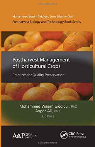 9781771883344: Postharvest Management of Horticultural Crops: Practices for Quality Preservation (Postharvest Biology and Technology)