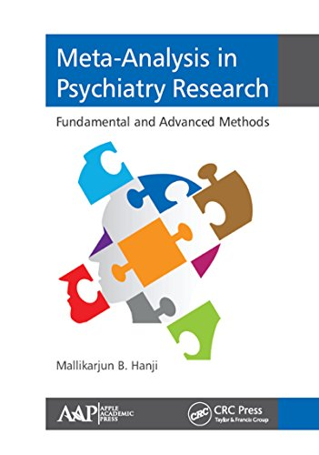 9781771883764: Meta-Analysis in Psychiatry Research: Fundamental and Advanced Methods