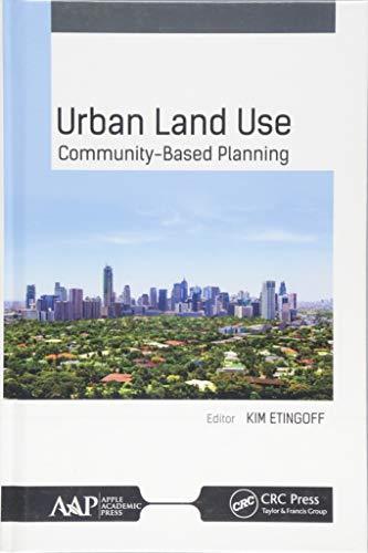 9781771884853: Urban Land Use: Community-Based Planning