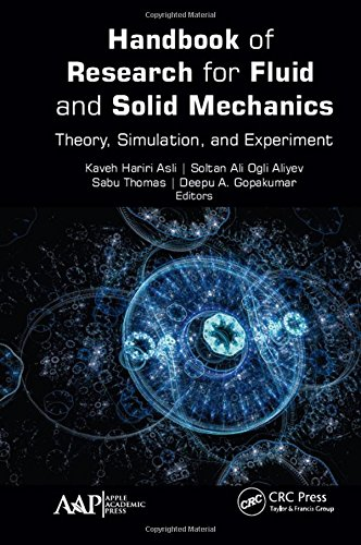 9781771885010: Handbook of Research for Fluid and Solid Mechanics: Theory, Simulation, and Experiment