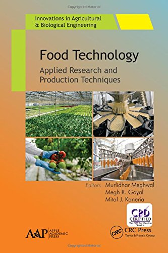 9781771885096: Food Technology: Applied Research and Production Techniques (Innovations in Agricultural & Biological Engineering)