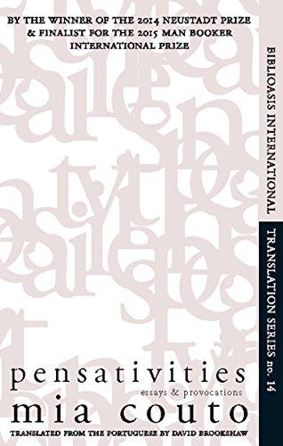 9781771960076: Pensativities: Selected Essays: 14 (Biblioasis International Translation Series (14))