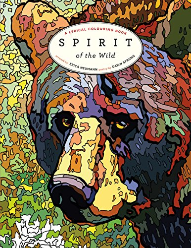 9781772031157: Spirit of the Wild: A Lyrical Colouring Book