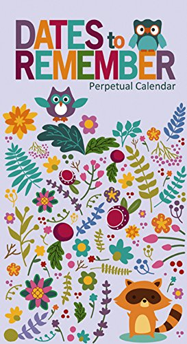 9781772180794: Dates To Remember Perpetual Calendar