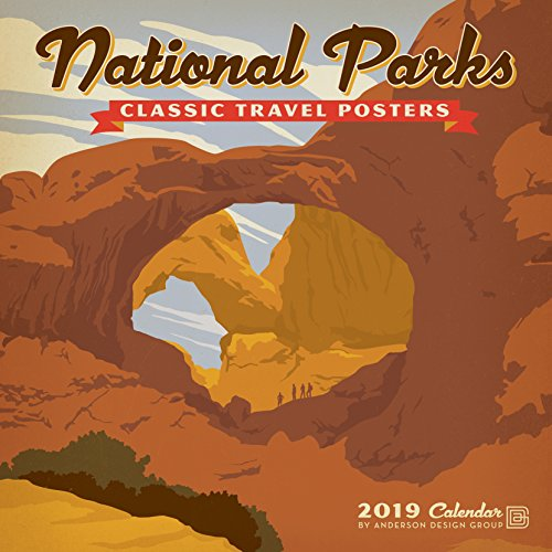 9781772182910 National Parks Classic Posters 2019 Wall Calendar Abebooks Anderson Design Group 1772182915