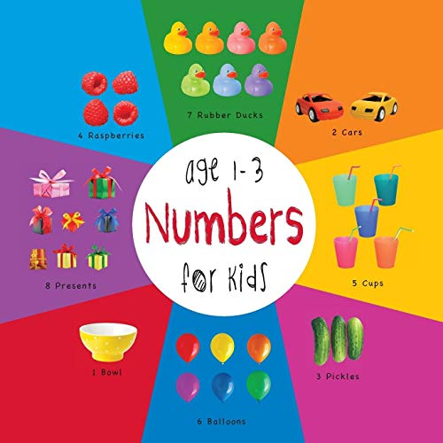 9781772260700: Numbers for Kids age 1-3 (Engage Early Readers: Children's Learning Books) with FREE EBOOK