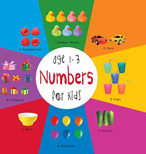 9781772260717: Numbers for Kids age 1-3 (Engage Early Readers: Children's Learning Books) with FREE EBOOK