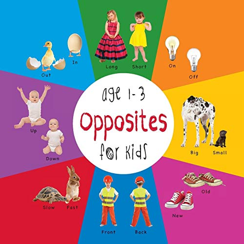 9781772260755: Opposites for Kids age 1-3 (Engage Early Readers: Children's Learning Books) with FREE EBOOK