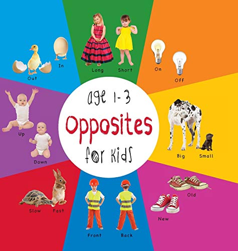 9781772260762: Opposites for Kids age 1-3 (Engage Early Readers: Children's Learning Books) with FREE EBOOK