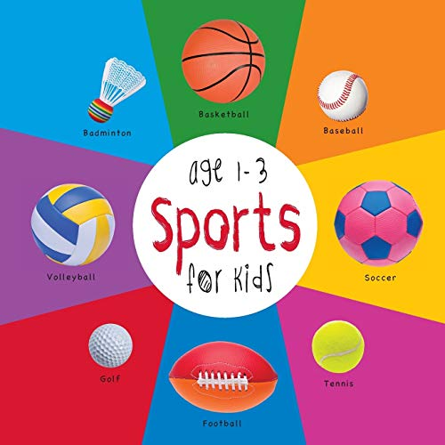Sports for Kids age 1-3 (Engage Early Readers: Children's Learning Books) with FREE EBOOK: ...