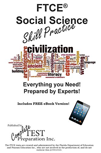 9781772450330: FTCE Social Science Skill Practice