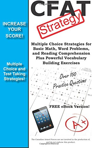 9781772450415: CFAT Strategy!: Winning Multiple Choice Strategies for the Canadian Forces Aptitude Test
