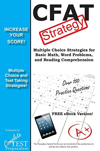 9781772451269: Cfat Test Strategy: Winning Multiple Choice Strategies for the Canadian Forces Aptitude Test