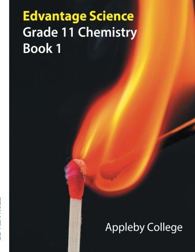 9781772493542: Grade 11 Chemistry: Book 1 Appleby College