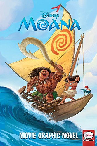 Disney Moana Movie Graphic Novel
