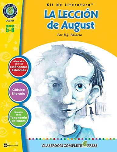 9781773448008: La Lección de August - Kit de Literatura Gr. 5-6 (Spanish Edition)