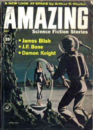 Amazing Science Fiction Stories, July 1960 (Volume: James Blish, J.