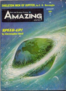 9781773464015: Amazing Stories January 1964 Burroughs Skeleton Men of Jupiter (Volume 38, No. 1)