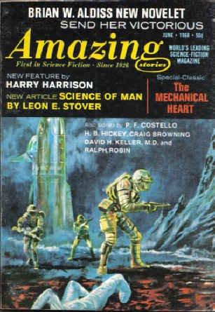 9781773468068: Amazing Stories, June 1968 (Volume 42, No. 1)
