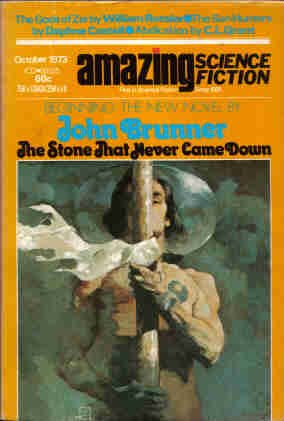 Amazing Stories (Amazing Science Fiction) October 1973: Charles L. Grant,
