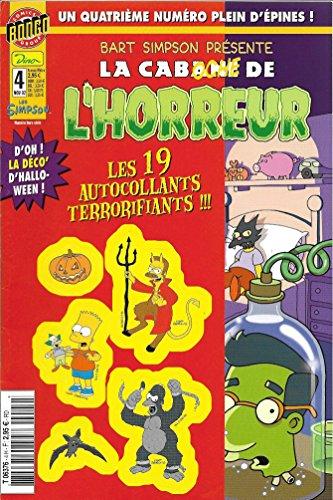 9781774504802: bart simpson la cabane de l horreur n° 4 comics simpson hors serie