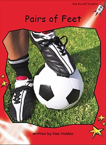 9781776540136: Pairs of Feet (Red Rocket Readers)