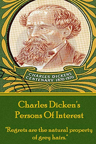 9781780004433: Charles Dicken's Persons Of Interest: