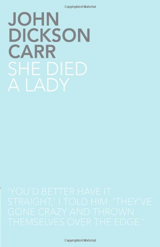 9781780020051: She Died a Lady