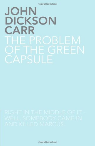 9781780020068: The Problem of the Green Capsule