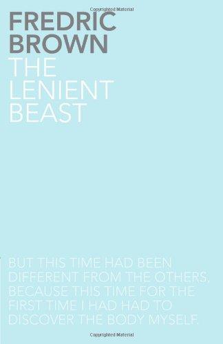 9781780020129: The Lenient Beast