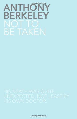 9781780021492: Not to Be Taken