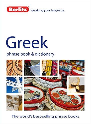 9781780042664: Berlitz: Greek Phrase Book & Dictionary (Berlitz Phrasebooks)