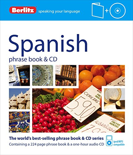 9781780042749: Berlitz: Spanish Phrase Book & CD (Berlitz Phrase Book & CD)