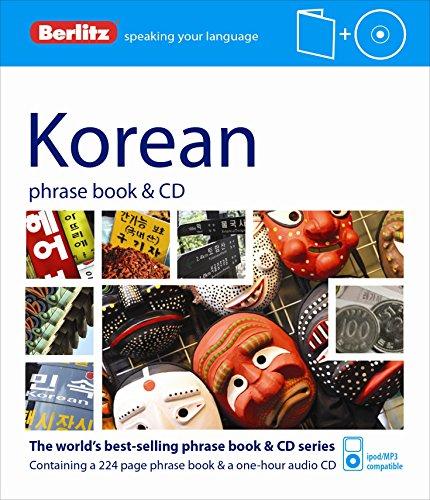 Berlitz Language: Korean Phrase Book & CD (Berlitz Phrase Book & CD)