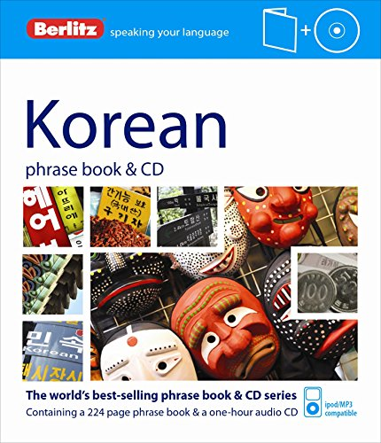 9781780042954: Berlitz Language: Korean Phrase Book & CD (Berlitz Phrase Book & CD)