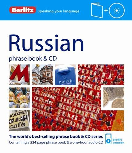 9781780042985: Berlitz Language: Russian Phrase Book & CD (Berlitz Phrase Book & CD)