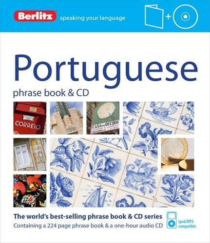 9781780044026: Berlitz Language: Portuguese Phrase Book & CD (Berlitz Phrase Book & CD)