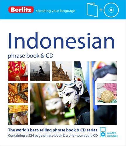 9781780044033: Berlitz Indonesian Phrase Book & CD