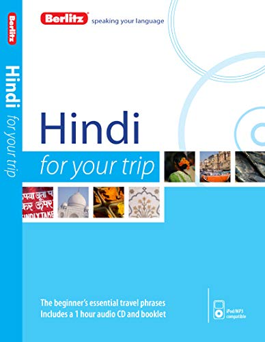 9781780044200: Berlitz Hindi For Your Trip